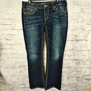 EUC! SILVER Aiko Bootcut Jeans